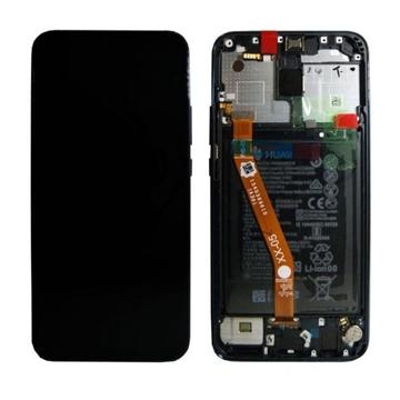Εικόνα της Γνήσια Οθόνη LCD με Μηχανισμό Αφής και Πλαίσιο και Μπαταρία  για Huawei Mate 20 Lite (Service Pack) 02352GTW - Χρώμα: Μαύρο